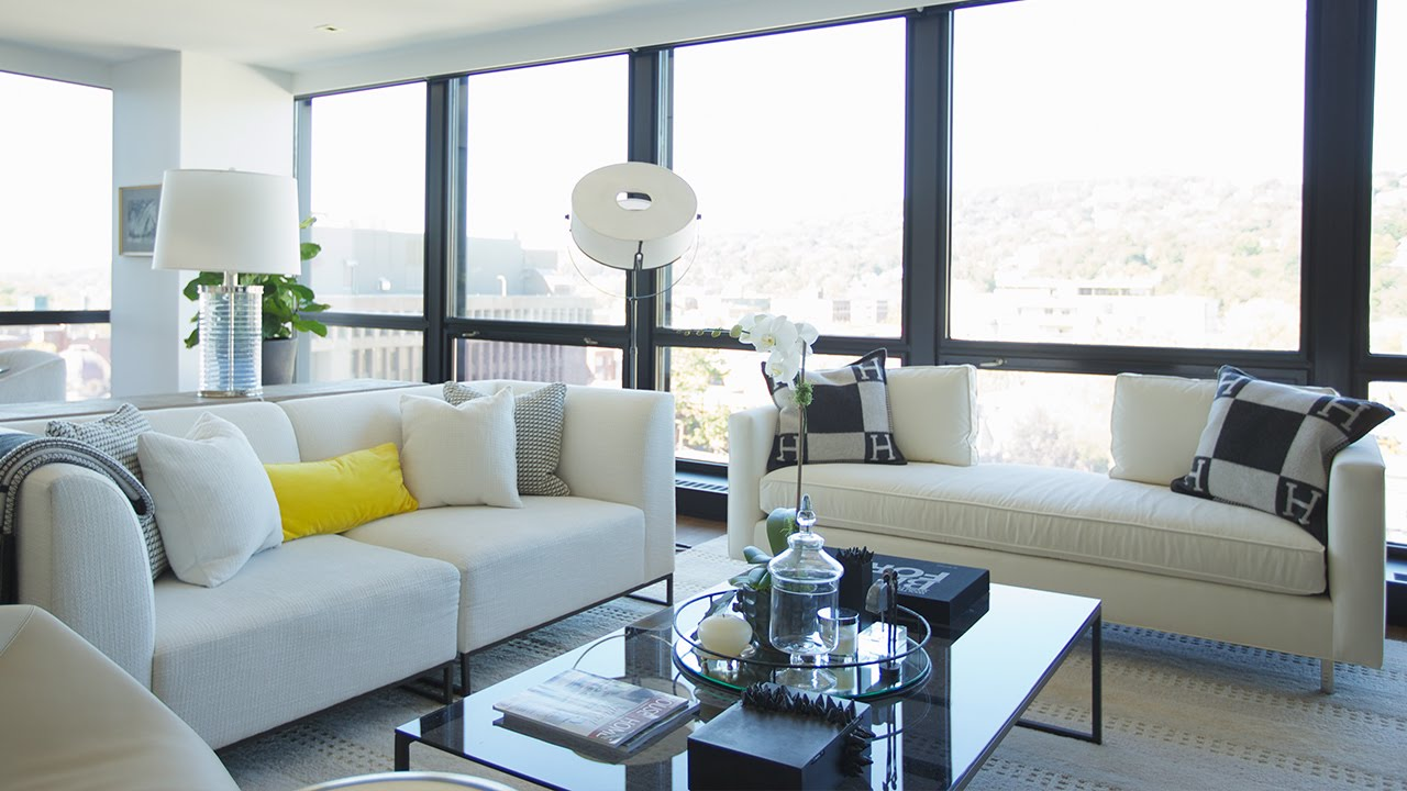 Interior design tour a warm and luxurious condo youtube for Interior design styles condominium