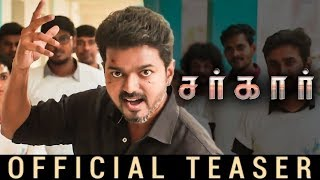 Sarkar - Official Teaser [Tamil] Reaction | Thalapathy Vijay| breakdown and unknown Facts in Sarkar