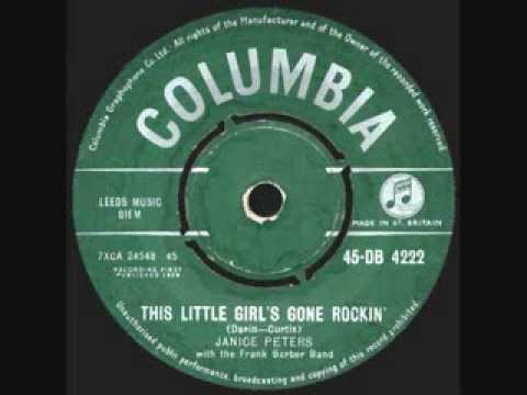 Janice Peters - 'This Little Girl's Gone Rockin' - 1958 45rpm