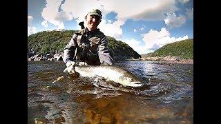Laksefiskeri på Kola halvøen 2013 (Del 1)