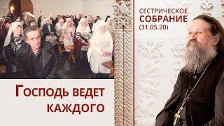 Господь ведет каждого. Сестрическое собрание (31.05.20)