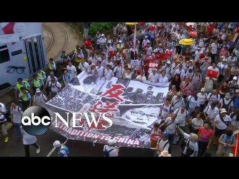 Protesters in Hong Kong calling for new demonstrations over extradition proposal