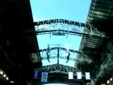 Lucas Oil Stadium Roof Time Lapse