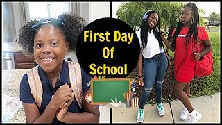 First Day Of School | They Hate Their New School | Family Vlogs