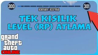 GTA Online - 10 Dakikada 10 Seviye RP Yükselme