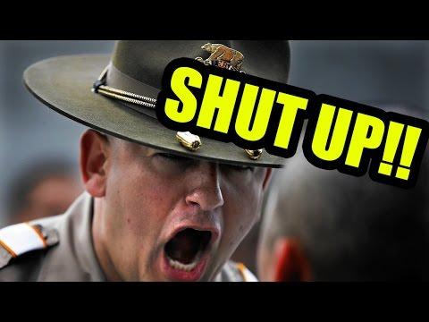 THE POLICE ACADEMY!!