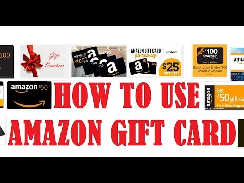 How to use Amazon gift card | How to Shop at Amazon using Gift Card Balance or Gift Certificate