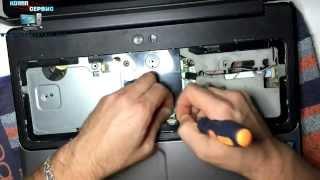 Ремонт ноутбуков Барселона. Чистка системы охлаждения Compaq Presario CQ61(, 2014-12-10T22:09:56.000Z)