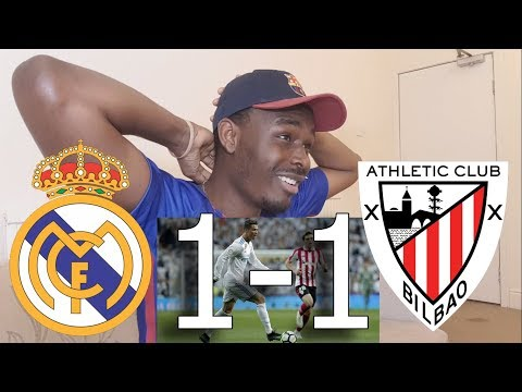 Barcelona Fan Reacts To ● Real Madrid VS Athletic Bilbao