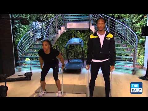 Elastic Band Workout with personal trainer Joshua Holland