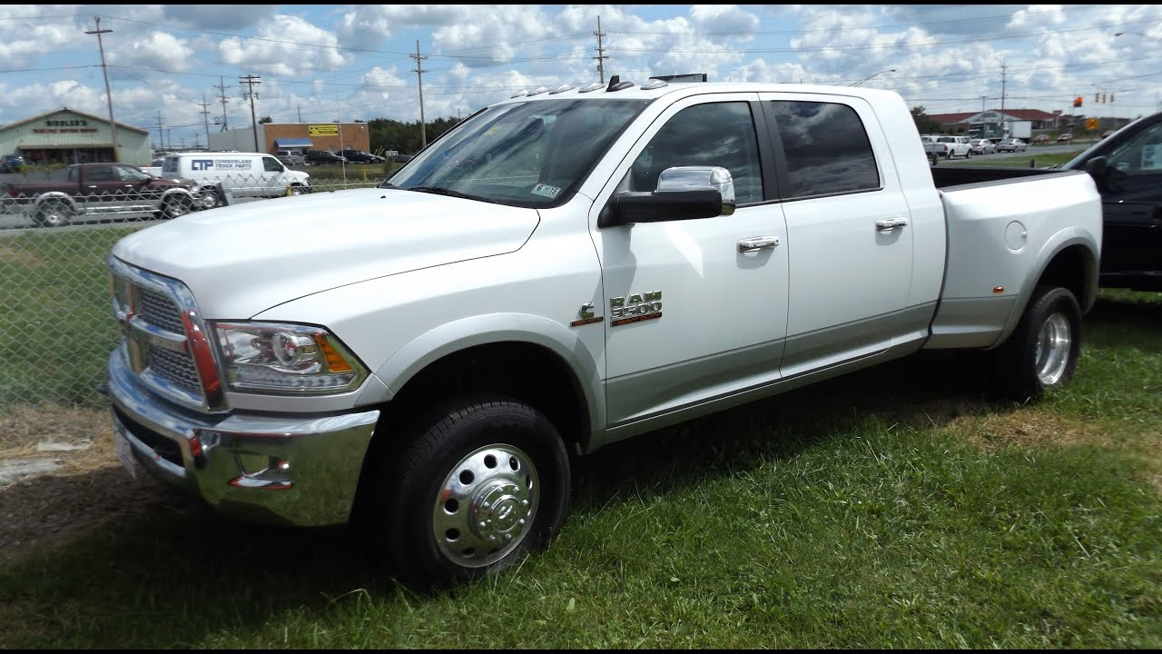 2014 ram 3500 heavy duty crew cab 6 7l turbo diesel cummins start up tour and review youtube. Black Bedroom Furniture Sets. Home Design Ideas
