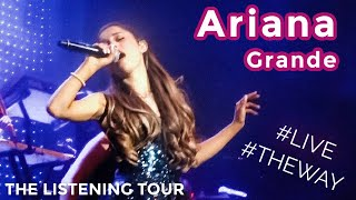 "Ariana Grande KILLLLED IT!!! (Performing ""The Way"") -- Listening Session Tour 8/13/13"