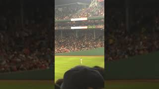 Bad baseball game by the Red Sox but this is fun