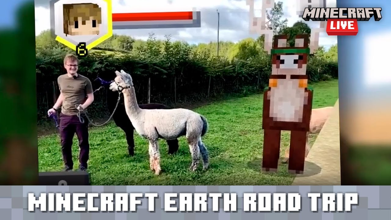 Minecraft Live: Minecraft Earth Road Trip