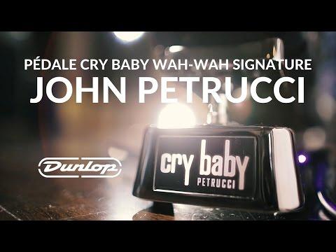 Pédale DUNLOP Cry Baby Wah-Wah signature John Petrucci pour 2016 (La Boite Noire)