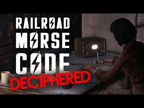 Railroad Morse Code Deciphered - Fallout 4 Lore