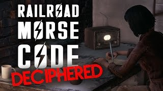 Railroad Morse Code Deciphered - Fallout 4 Lore