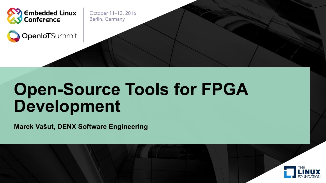 Open-Source Tools for FPGA Development
