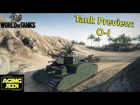 O-I Japanese Tier 6 Heavy Tank Preview - World of Tanks patch 9.10