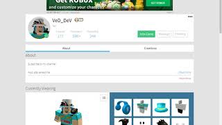 i found to Ved_Dev on roblox!