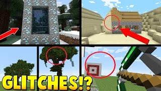 Minecraft: 7 MORE GLITCHES