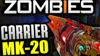 COD Advanced Warfare EXO-ZOMBIES CARRIER Playstation 4 L7-52 LIMBO MK20 GAMEPLAY AW DLC SUPREMACY