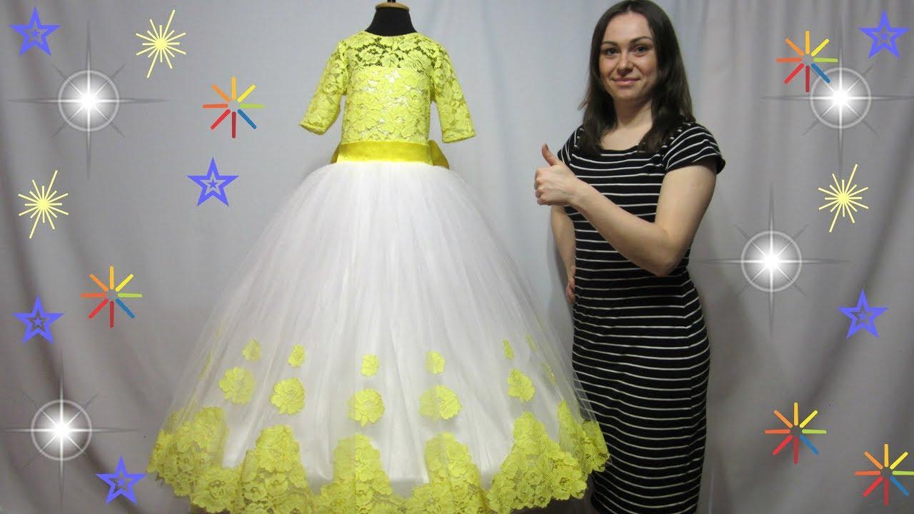 Выкройки для пышного платья для девочки своими руками фото 935