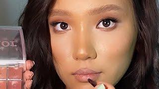 КАК УВЕЛИЧИТЬ ГЛАЗА Макияж для азиатских глаз Трендовый макияж 2021