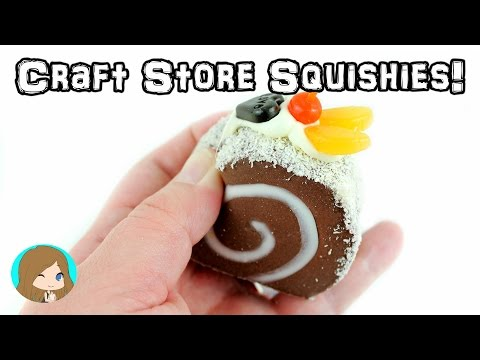 Squishies from Michaels and Hobby Lobby!