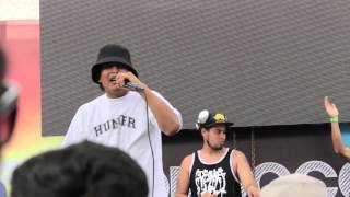 TERCO92 - MONOTONO (EN VIVO) - HIP HOP ON THE BEACH 2015