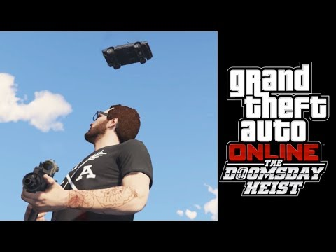 ART OF THE STEAL - GTA 5 Doomsday Heist Gameplay Part 4 thumbnail