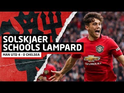 Solskjaer Schools Lampard | Manchester United 4-0 Chelsea | United Review