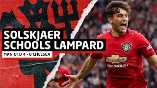 Solskjaer Schools Lampard   Manchester United 4-0 Chelsea   United Review