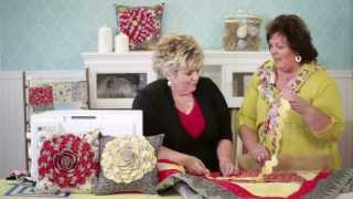 Repeat youtube video Scallop Ruffled Pillow with Janet Platt | ADORNit