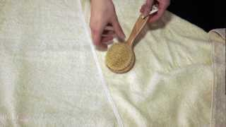 Body Brushing - how to use a body brush & why it's so effective on cellulite for smoother skin