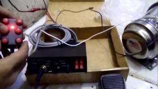 Sirine Modul CJB100PD (PJR) + toa 200watt + jumper // 6 suara