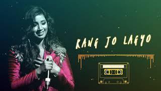 Rang Jo lagyo | Ramaiya Vastavaiya | Shreya Ghoshal, Atif Aslam | AVS