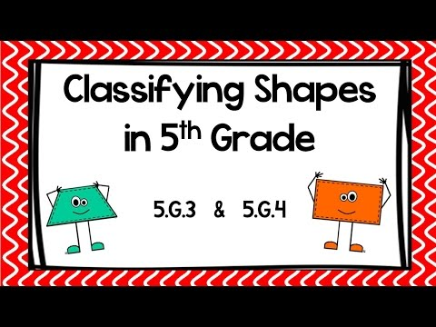 (5.G.B.4)Classifying Shapes in 5th Grade