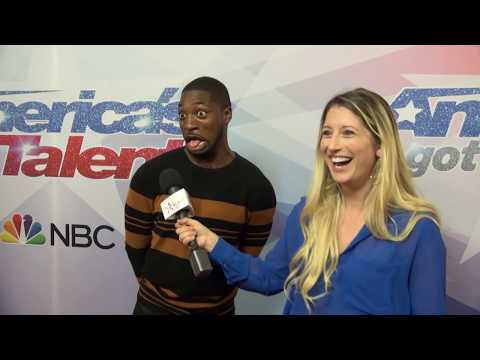 Preacher Lawson Brings His Jokes To The AGT Red Carpet After Finale Performances