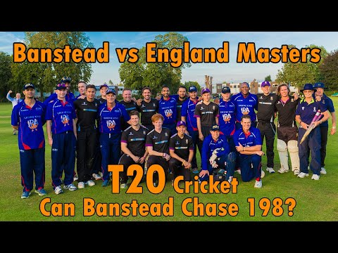 Banstead CC v England Masters T20 25th August 2017