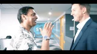 Shoaib Akhtar vs Brett Lee - Game On!