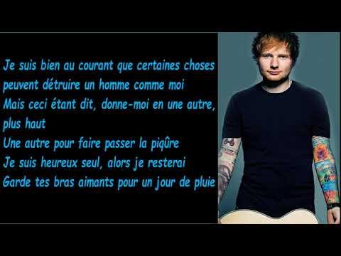 Ed Sheeran Eraser Traduction Française