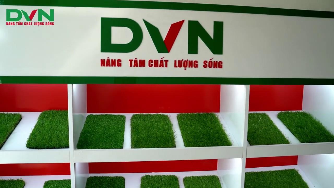 DVN Việt Nam - Cửa hàng cỏ nhân tạo DVN số 2 tại Đà Nẵng. - YouTube