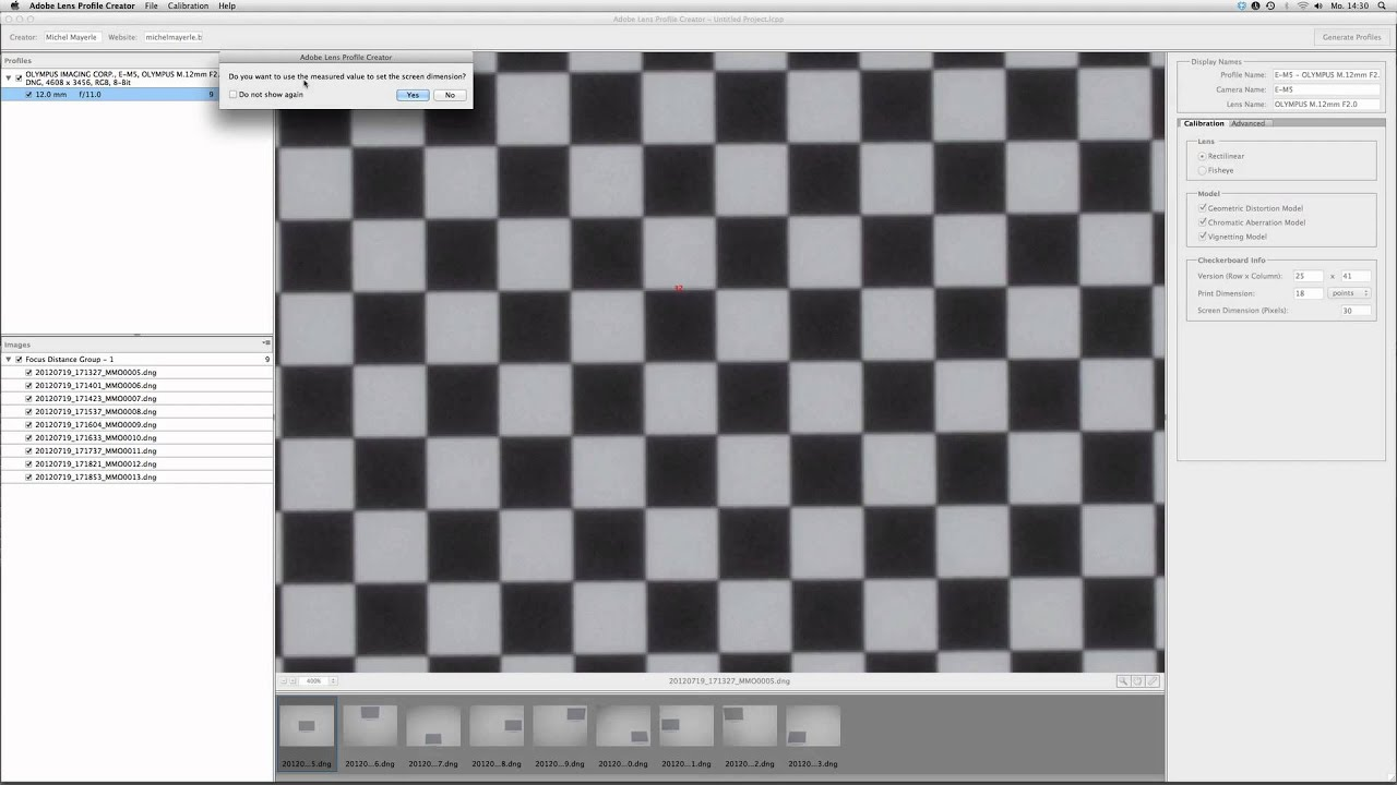 lightroom acr eigene objektivprofile erstellen youtube