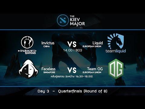 The Kiev Major 2017 : Main Event Day 3 - Quarterfinals - [Thai Caster]