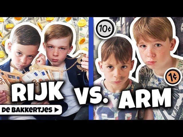 SKETCH: RIJK VS ARM !! 🤑🥺 - De Bakkertjes #238