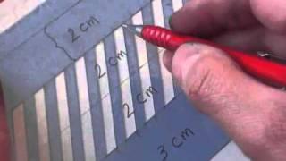 Hamid Ezra Ebrahimi: How To Write Copperplate - Making A Guide Sheet