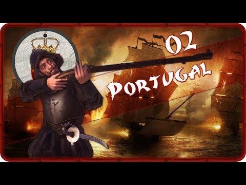 A FOOTHOLD ON KYUSHU - Portugal (Legendary) - Total War: Shogun 2 - Ep.02!