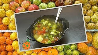 Рецепт №22. Минестроне, вегетарианский суп