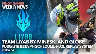 Team Liyab Esports Ng Mineski And Globe   Cod M Battle Royale   Ppgl